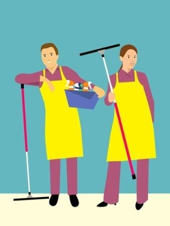 Family relationships: household chores men don't bother to do